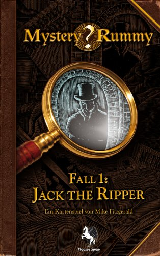 Pegasus Spiele 17850G - Mystery Rummy Jack the Ripper