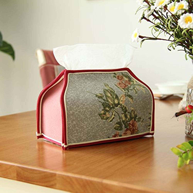 Retro europäischen Land Papiertuch Schachtel Tuch Baumwolle Baumwolle Baumwolle Haushalt Papier Hülse B078ZDGRCP | Grüne, neue Technologie  5fc340
