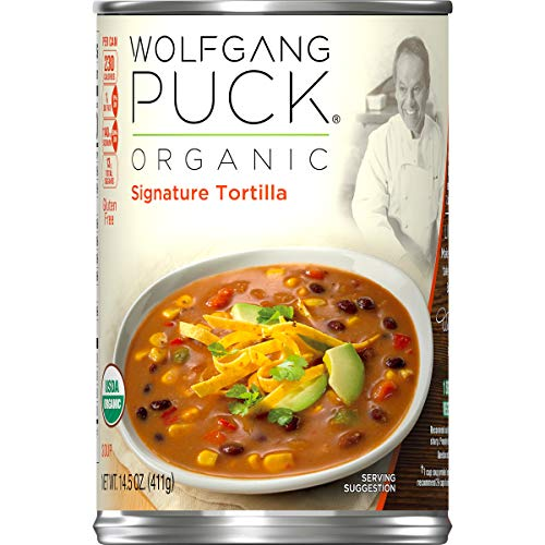 Wolfgang Puck Organic Signature Tortilla Soup, 14.5 oz. Can