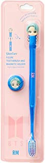 [BTS Official Merchandise] Fans Gift - K-Pop Idols Goods - BTS Character Figure Toothbrush with Convenient Magnetic Holder...