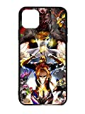 JNKPOAI My Hero Academia iPhone 12 Case Anime Theme TPU Fall Proof Waterproof Case Silica Gel Full Package Easy to Install Soft Shell (My Hero Academia)
