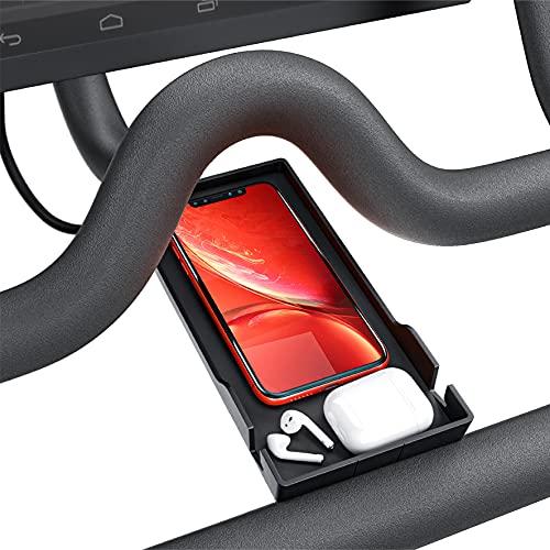 Crostice for Peloton Phone Holder, Upgraded Cell Phone Holder for Peloton Bike & Bike+, Tablet holder for Ipad, Stand for Ipad, Accessorise for Peloton