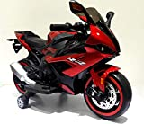 TAMCO Kids Electric Motorcycle with Training Wheels, Light Wheels ,Ride On Motorbike, Speed by Hand, Ride on Motorcycle Kids Gift