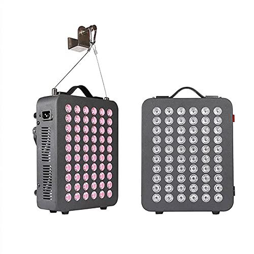 HYRL Lámpara de Fisioterapia infrarroja de luz roja de 300w 660nm 850nm Lámpara LED para Hornear de Belleza Dispositivo de Terapia Emocional Tiempo táctil para aliviar el Dolor, Salud de la Piel