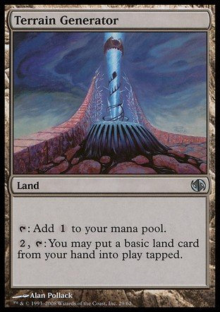Magic The Gathering - Terrain Generator - Duel Decks: Jace vs Chandra