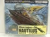 XPLUS Disney - 20,000 Leagues Under The Sea - Nautilus Submarine Pre-Built Model - Measures 15 Inches Long