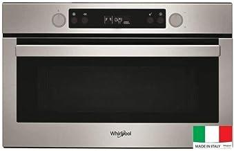WHIRLPOOL AMW804IX Microondas grill incorporado - 31L - 800 W - Combinaci�n grill 1000W - Gris
