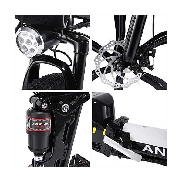 51RPBszY0sL. SS600  - fiugsed Elektrofahrrad Mountainbike 26 Zoll E-Bike 36V, 250W Das-Kit Heckmotor, Elektrofahrräder mit 21-Gang Nabenschaltung