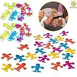 Gifts 4 All Occasions Limited SHATCHI-407 - Juego de 24 bolsas elásticas para fiesta de cumpleaños, multicolor