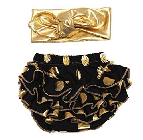 micia luxury(ミシアラグジュアリー) ベビーおむつカバー&ヘアバンド ケーキスマッシュ ハーフバースデー 誕生日 ギフト 12month ブラック