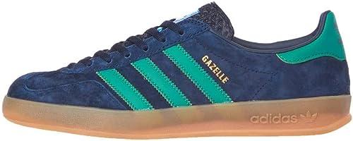 Adidas Gazelle Indoor Collegiate Navy, Active Grün & Blaubird G27501-45 1 3