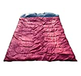 Outsunny Two-Person Double Wide Sleeping Bag,...