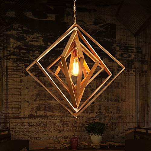 Chandelier Agriturismo Lampadario in bambù fatto a mano Chandelier Chandelier del soffitto del soffitto del sud-est asiatico Lanterna Lanterna E27 Plafoniera giapponese Adatto per soggiorno Corridor R