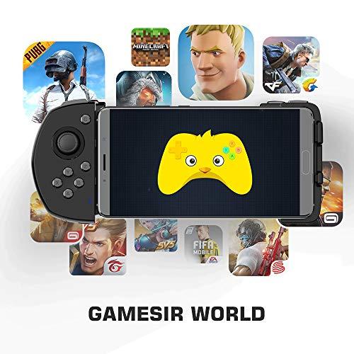 『Android ワイヤレス ゲームパッド GameSir G6 片手コントローラー COD/PUBG/ラフォートナイト/機動都市X/崩壊3対応』の3枚目の画像