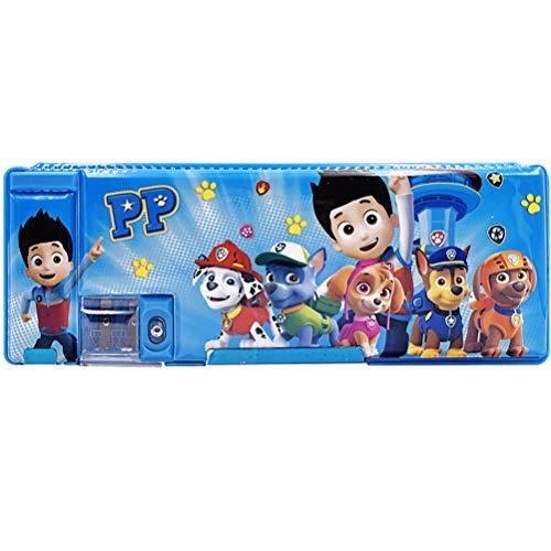 Paw Patrol Pop Out Estuche para lápices ZSWQ-Paw Patrol School Estuche para lápices,estuche portalápices desplegable para niños con sacapuntas-papelería multifunción para niñas