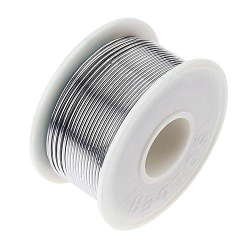 Preisvergleich Produktbild Asiproper Lötzinn100g 60 / 40 Kolophoniumkern Hohe Reinheit Zinn Lötdraht Elektrische Löten Schweißen Flussdraht Reel (1, 2mm)
