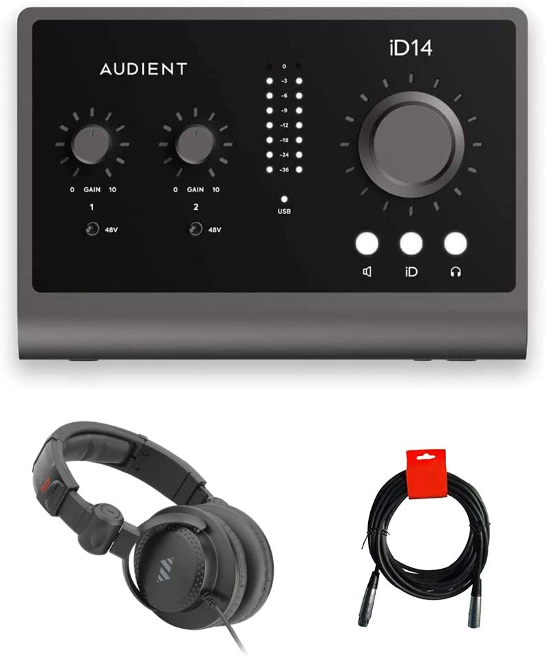 Audient ID14 MKII 2 Sales results No. 1 Channel and Bundl USB Interface Monitoring Las Vegas Mall