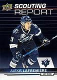2018-19 Upper Deck CHL Scouting Report #SR-1 Alexis Lafreniere Hockey Card