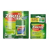 Zyrtec 24 Hour Allergy Relief Tablets, Antihistamine Allery Medicine...