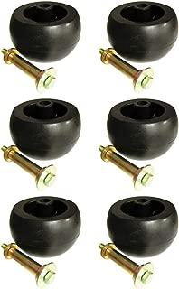 (6) Deck Wheel Roller Kits for Exmark Viking Lazer Z Toro Groundsmaster Zero Turn Mower