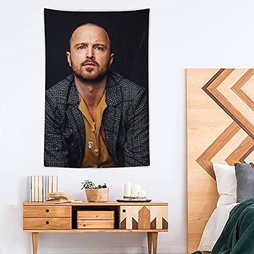 Tapiz de poliéster Aaron Paul – Pop Art – Decoración del hogar – 100 x 150 cm