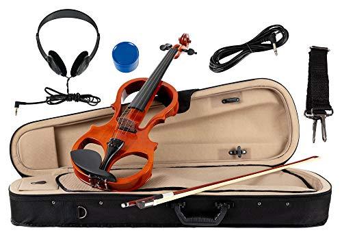 Classic Cantabile EV-81 - Violino elettrico, set...