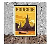 KUANGXIN Bangkok Thailand Retro Reise Propaganda Poster