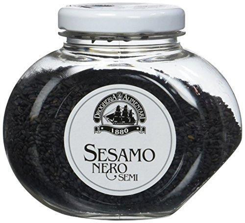 Drogheria e Alimentari Spa Sesamo Nero - Pacco da 6 x 100 g