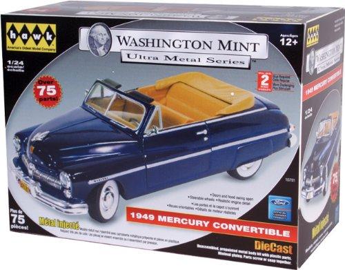 Hawk Washington Mint Ultra Metal Series 1949 Mercury Convertible, Blue