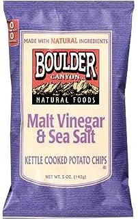Boulder Canyon Malt Vinegar Potato Chips (12x5 Oz)