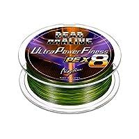 VARIVAS(バリバス) PEライン ノガレス デッド オア アライブ ウルトラパワーフィネスPE X8 150m 1.5号 31lb グリーン