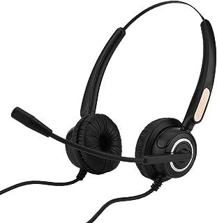 Call Center USB Headset, USB Call Center Headset with Microphone for Computer, Telephone, Desktop Box etc/Light Weight/Noi...