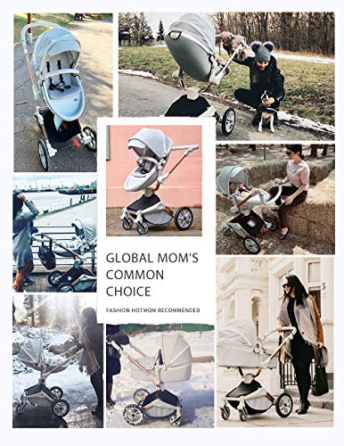 Baby Stroller 360 Degree Rotation Function,Hot Mom Baby Carriage...