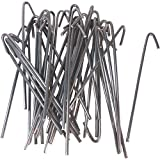 Jake Sales 10-1/2' Wire Ties (Aluminum) aka Chain Link Fence Hook Ties or Tie Wires (Qty. 30)