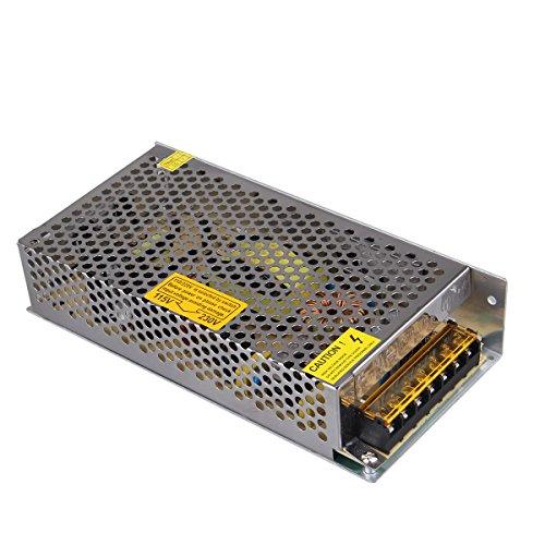 NEWSTYLE 12V 10A 120W Fuente Alimentación o Transformador,110V / 220V AC a DC 12V 10A 120W Fuente de alimentación del interruptor, transformador de potencia para cámara CCTV , Sistema de seguridad