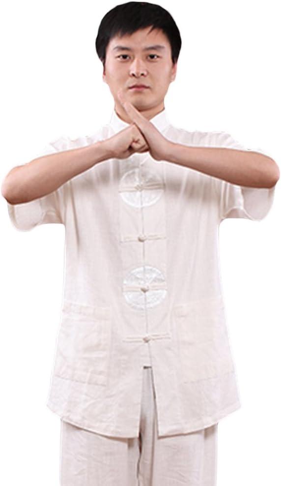 ZooBoo Tai Chi Uniform Clothing - Qi Gong Martial Arts Wing Chun Shaolin Kung Fu Taekwondo Training Cloths Apparel Clothing