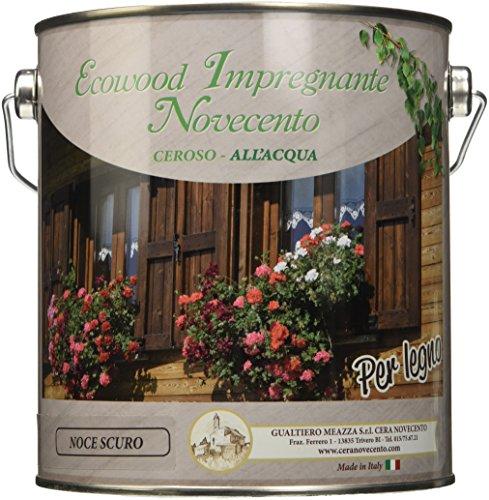 Cera Novecento 9155 Ecowood Impregnante, Noce Scuro, 2.5 Litri