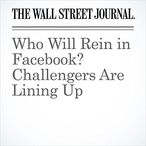 Who Will Reign in Facebook? Challengers Are Lining Up (Unabridged) copertina