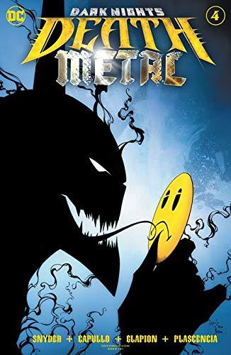 Dark Nights Death Metal #4 Capullo Foil Cvr (DC, 2020) NM