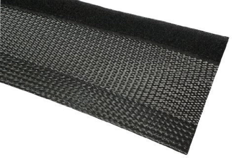 25m Geflechtschlauch mit Klettverschluss 17-20mm Bündel schwarz Gewebeschlauch JSGF37320 B00H3IHGG8 | Haltbar