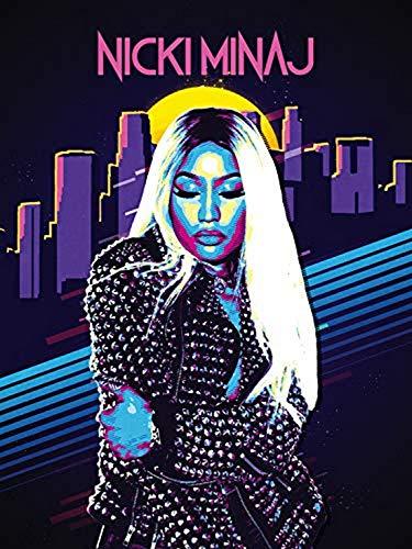 777 Tri-Seven Entertainment Nicki Minaj Poster Musik Kunstdruck (18 x 24 cm), mehrfarbig