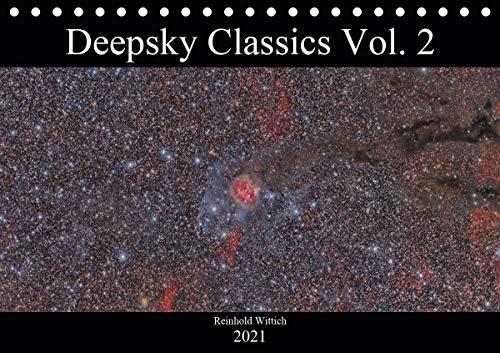 Deepsky Classics Vol. 2 (Tischkalender 2021 DIN A5 quer)