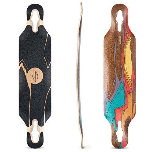 Loaded Boards Icarus Bamboo Longboard Skateboard Deck (Flex 2)