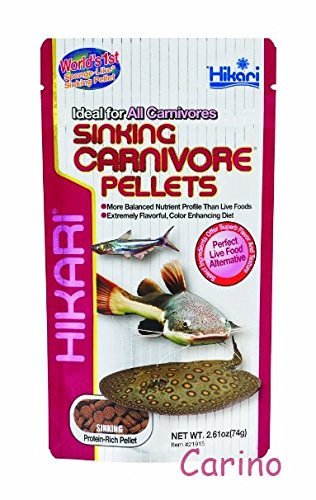 Hikari Sinking Carnivore Pellets for All Carnivore 74g. By Carino