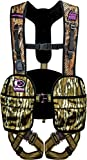 Hunter Safety System Lady Hybrid Treestand Safety Harness with ElimiShield Scent Control Technology, Mossy Oak, Medium/Large