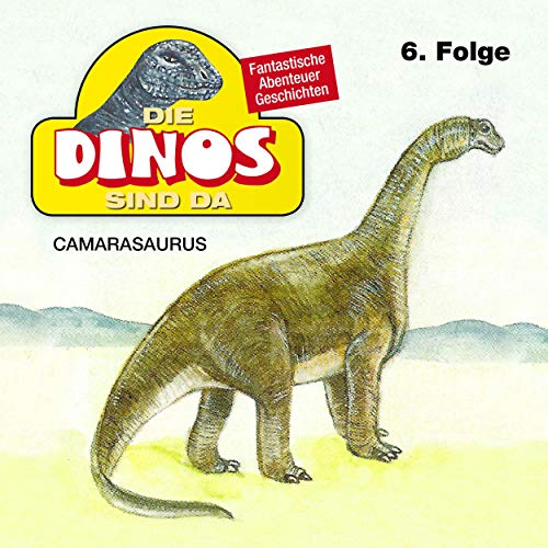 Camarasaurus cover art