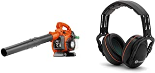 Husqvarna 125B 28cc Handheld Blower with Professional Headband Hearing  Protector