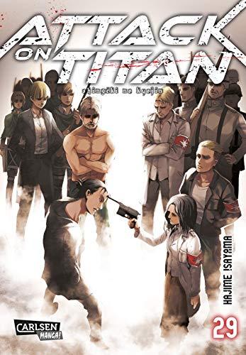 Attack on Titan 29: Atemberaubende Fantasy-Action im Kampf gegen grauenhafte Titanen