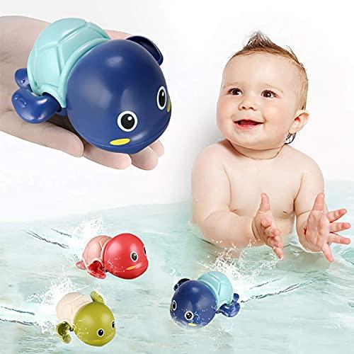 TOHIBEE Bath Toys, 3 Pack Cute Swimming Turtle...