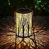 Laternen Für Draußen Gartenlaterne Gartendeko Vintage Hängen Outdoor Gartentisch Pergola Patio Zaun LED Lampe Garten Deko